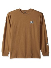 Brixton Dusty Olive Long Sleeve Primo Tee