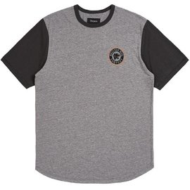 Brixton Heather Grey/Black Forte III Tee