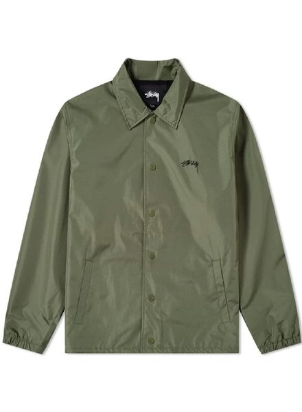 Stüssy Olive Cruize Coach Jacket