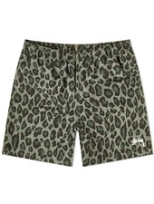 Stüssy Tonal Leopard Water Shorts