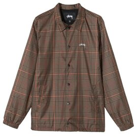 Stüssy Plaid Coach Jacket