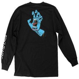 Santa Cruz Skateboards Black Long Sleeve Screaming Hand Tee