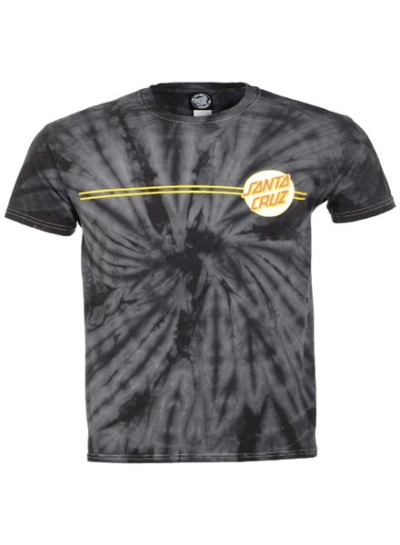 Santa Cruz Skateboards Spider Black Other Dot Tee
