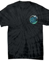 Santa Cruz Skateboards Spider Black Wave Dot Tee