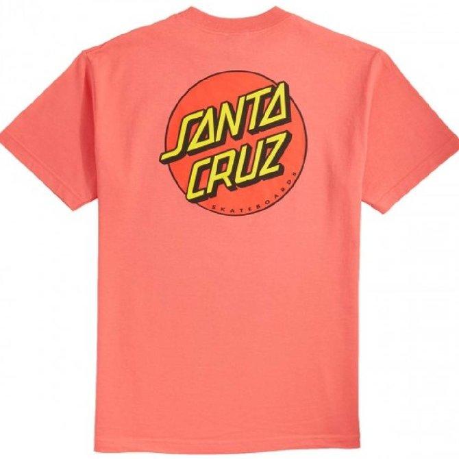 Santa Cruz Skateboards Coral Classic Dot Tee