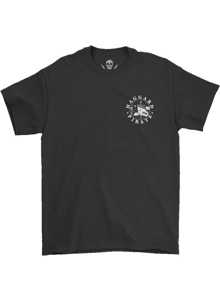 HAGGARD PIRATE Black Low Places Tee