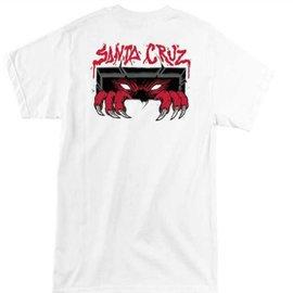 Santa Cruz Skateboards White Unknown Tee