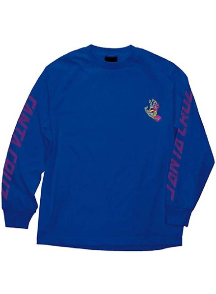 NHS Royal Blue Screaming Hand Long Sleeve Tee