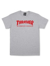 Thrasher Skate Mag Tee Gray