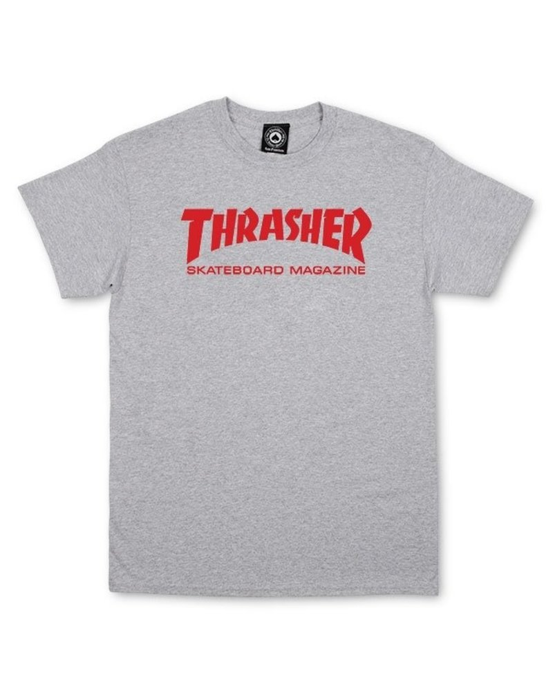 Thrasher Thrasher Skate Mag Tee Gray
