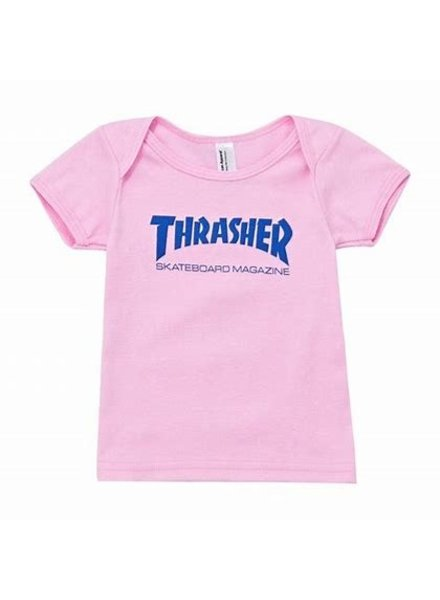 Thrasher Pink Infant Skatemag t shirt