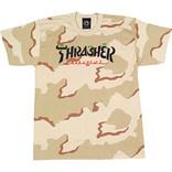 Thrasher Thrasher Calligraphy Camo Tee