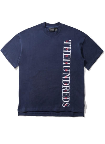 The Hundreds NAVY SNYDER T SHIRT