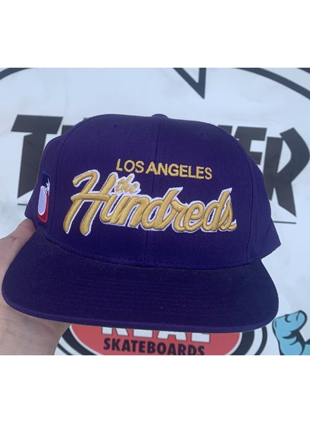 The Hundreds HAT TEAM TWO SNAP LIGHT PURPLE