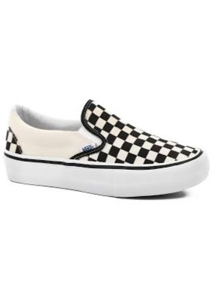 Vans SLIP ON PRO CHCKRBRD BLACK