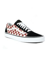Vans OLD SKOOL CHECKER BLK/RED
