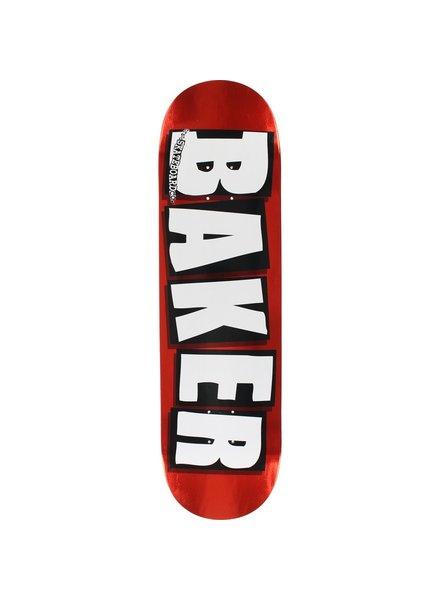 Baker Brand Logo Red Foil