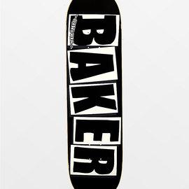 Baker Brand Logo Black/ White 8.125