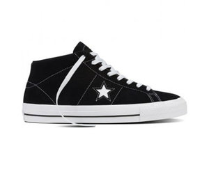 ONE STAR PRO SUEDE MID BLKWBLK