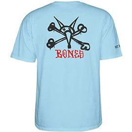 Powell Peralta PP T SHIRT RAT BONE POWDER BLUE