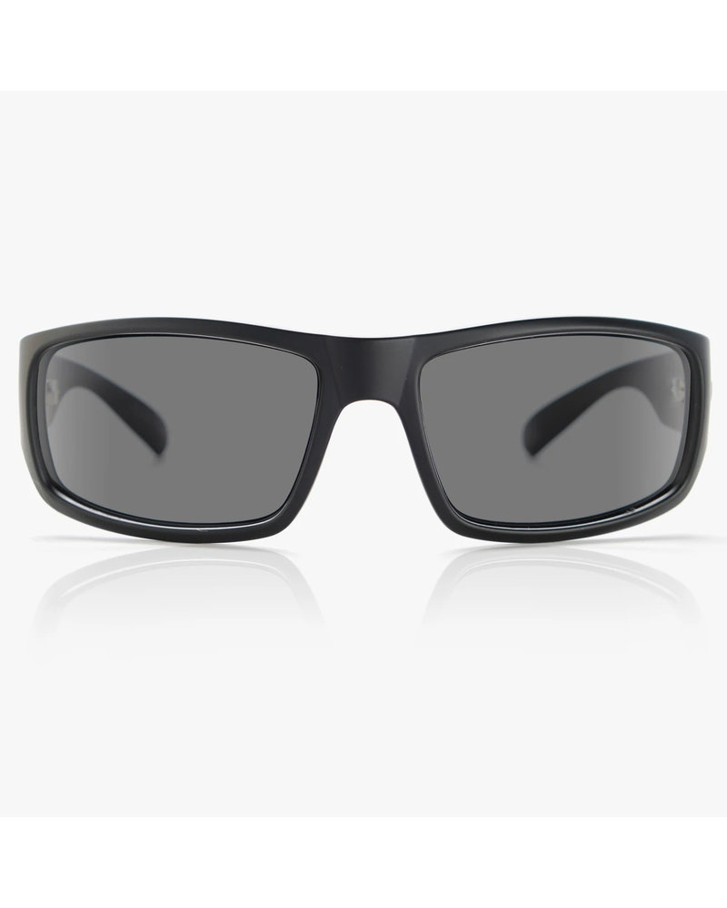 MADSON 101 POLARIZED (12-9902) BLK ON BLK/GREY