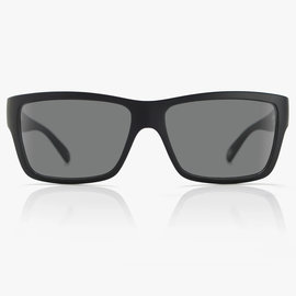 MADSON MADSON PISTON SUNGLASSES BLACK ON BLACK/GREY POLARIZED (14-9902)