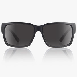 MADSON MADSON CLASSICO SUNGLASSES BLACK ON BLACK/GREY POLARIZED (15-9902)