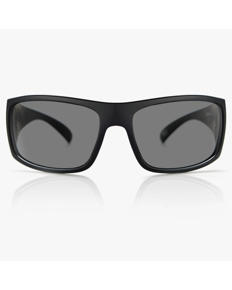 MADSON MAGNATE POLARIZED (19-9902) BLK ON BLK/GREY