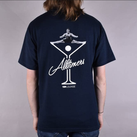ALLTIMERS ALLTIMERS T-SHIRT SPLIT NAVY TEE