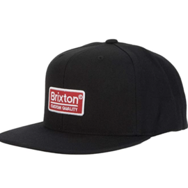 Brixton PALMER II MP SNBK  BLK/RED