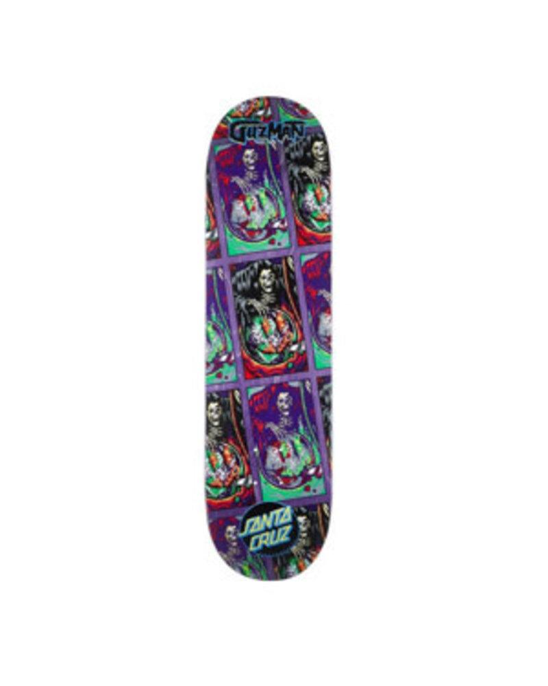 Santa Cruz Skateboards GUZMAN SMILE TILE POWERPLY 8.27