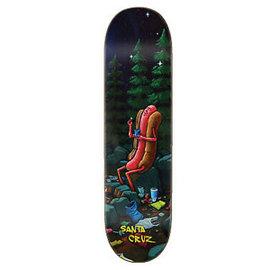Santa Cruz Skateboards HOT DOG CAMPOUT EVERSLICK 8.5