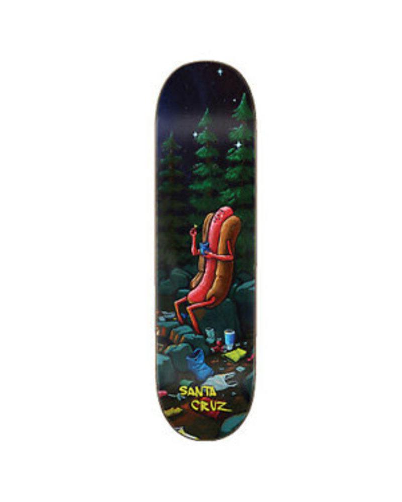 Santa Cruz Skateboards HOT DOG CAMPOUT EVERSLICK (11116017)