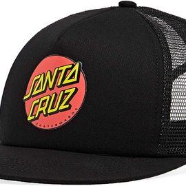 Santa Cruz Skateboards SANTA CRUZ CLASSIC DOT MESH TRUCKER BLK
