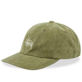 STUSSY HAT NO WALE CORD LOW PRO OLIVE