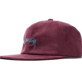 Stüssy STUSSY BURGUNDY MICROFIBER CAP