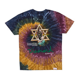 DIAMOND SUPPLY STAR OF DAVID SS TEE