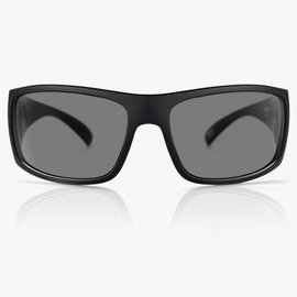 MADSON MADSON MAGNATE SUNGLASSES BLACK MATTE/GREY POLARIZED