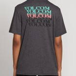 Volcom Volcom STONE ALIAS S/S T-SHIRTHEATHER BLACK