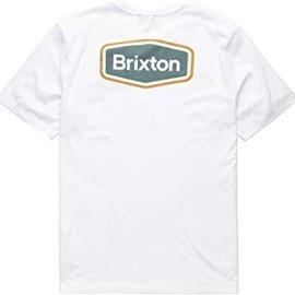 Brixton BRIXTON BUMPER  SHORT SLEEVE T-SHIRT PRT