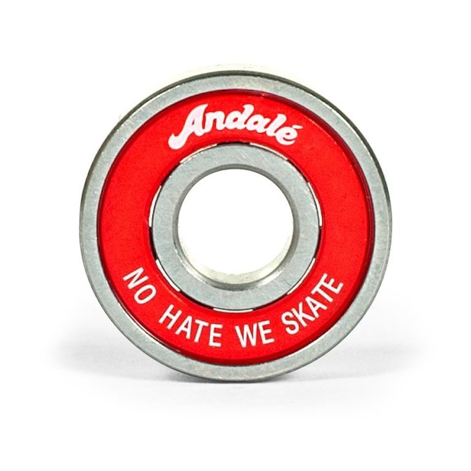 ANDALE ANDALE NO HATE WE SKATE BEARING (11246056-RED-1)