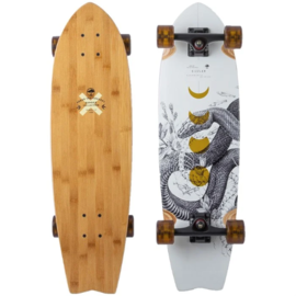 ARBOR SIZZLER BAMBOO LONGBOARD COMPLETE  32in