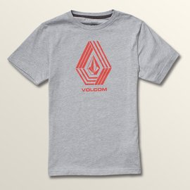 Volcom VOLCOM CYCLE STONE S/S YTH ATB GREY SHORT SLEEVE TEE