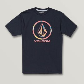 Volcom VOLCOM PATTERN FILL YTH BLACK T-SHIRT