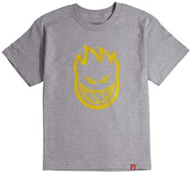 Spitfire SF Short sleeve Bighead t-shirt Youth heather/ yellow
