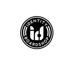 IDENTITY BOARDSHOP NEW LOGO ROUND STICKERS