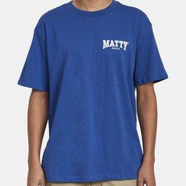 RVCA MATTYS SS BLUE T-SHIRT