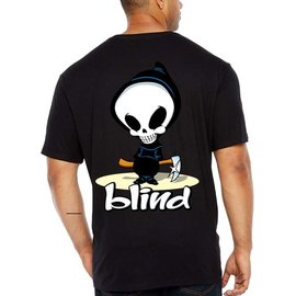 BLIND BLIND T SHIRT RIPPER S/S BLACK