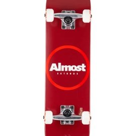Almost Almost Red Ringer Youth FP. Complete Skateboard 7.25