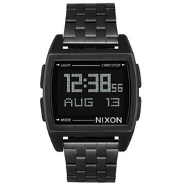 NIXON BASE WATCH  ALL BLACK